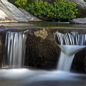 Agua de roca