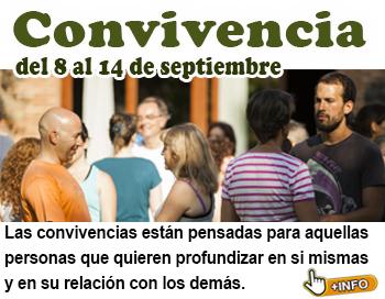 Convivencia del 8 al 14 de Septiembre