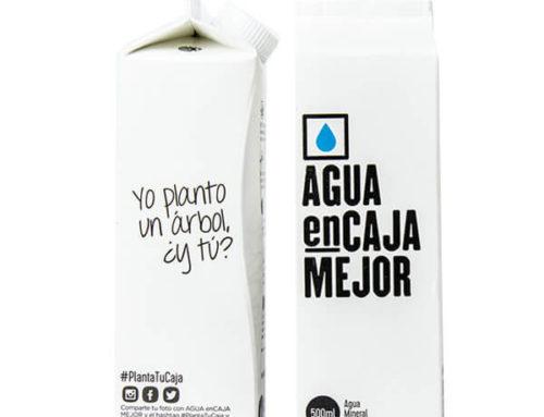 Agua enCaja Mejor, el primer agua embotellada en envase de cartón