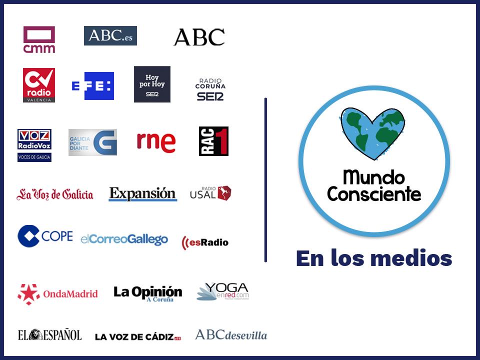 Mundo Consciente en los medios