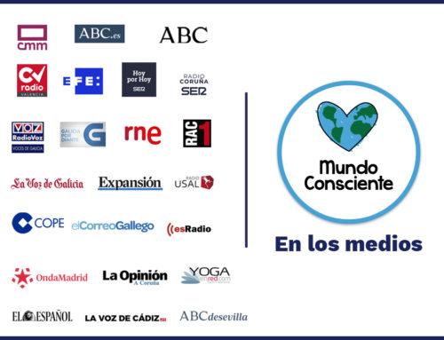Los medios de comunicación españoles se hacen eco del confinamiento en Mundo Consciente