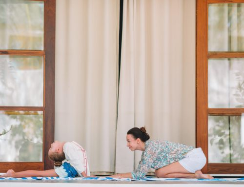 Yoga fácil para niños